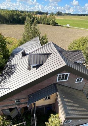 Saneerauskohteen katto